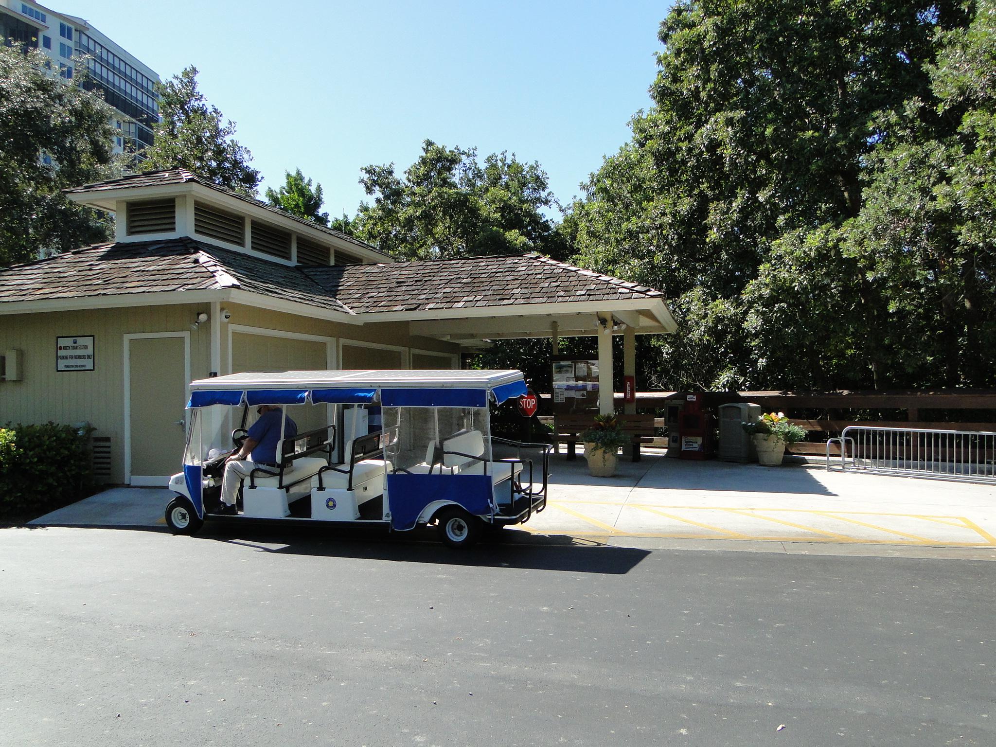 Pelican Bay North Station Beach Tram